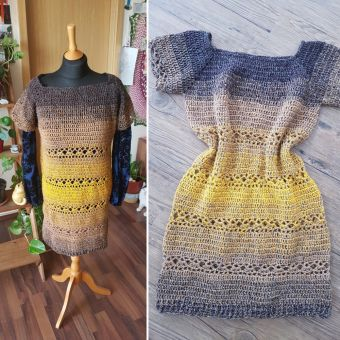 RVO Kleid häkeln, Mara