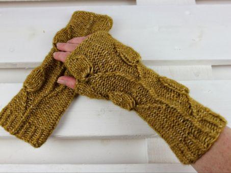 Strickanleitung Set Handstulpen