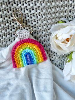 Regenbogen als Schlüsselanhänger