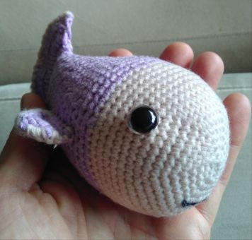 Häkelanleitung kleiner Fisch