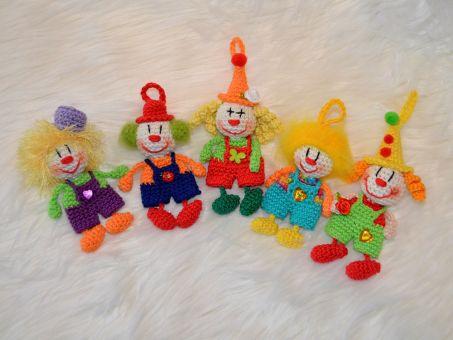 Schlüsselanhänger lustige Clowns