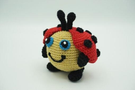 Muki-Marienkäfer ⇝ Häkelanleitung (Crochet Pattern Ladybird)