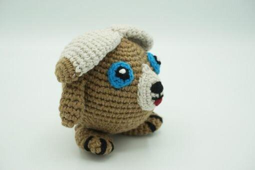 Muki-Hund ⇝ Häkelanleitung (Crochet Pattern Dog)