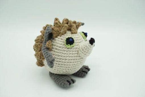 Muki-Igel ⇝ Häkelanleitung (Crochet Pattern Hedgehog)