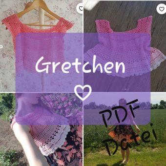 RVO Crop Top häkeln, Gretchen