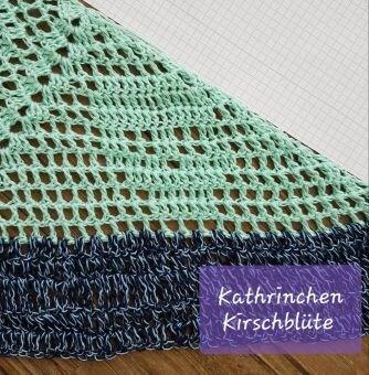 Dreieckstuch häkeln, Free Pattern 1
