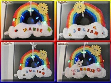 Der Regenbogen, die Dekoration für viele Möglichkeiten
