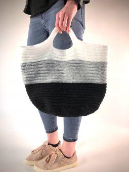 Häkelanleitung für Tasche mit Boden
