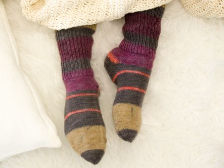 Lieblingsfarben Sockenwolle Bettina Bauer