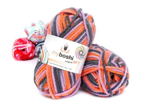 myboshi No.1 multicolor Wolle