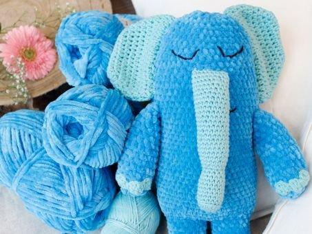 myboshi Samt Elefant