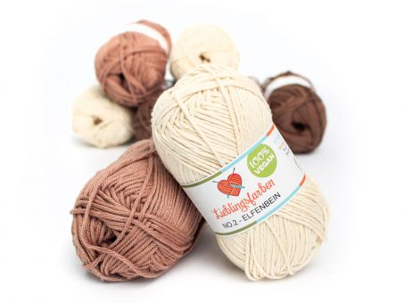 Lieblingsfarben No.2: Lieblingswolle in 30 Farben elfenbein