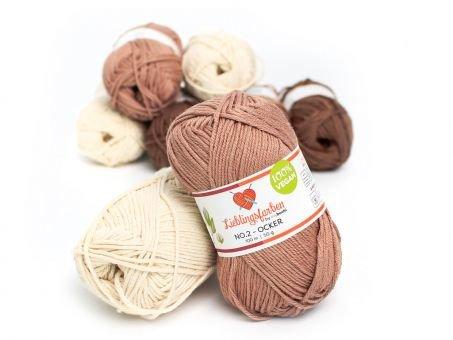 Lieblingsfarben No.2: Lieblingswolle in 30 Farben ocker