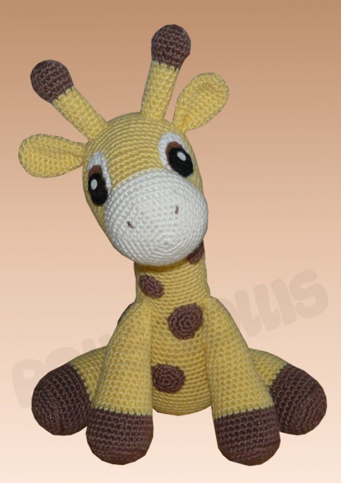 Roliswollis Häkelanleitung Kara Die Giraffe Myboshinet
