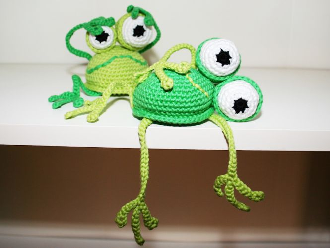patterns by steph - Frosch - Kantenhocker - Amigurumi | MyBoshi.net