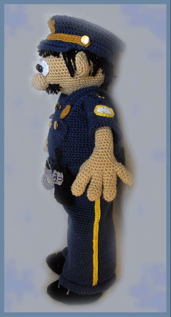 Lenashobby Polizist Mike Pdf Häkelanleitung Puppe Myboshinet