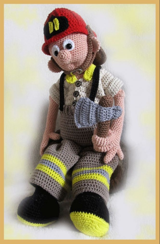 Lenashobby Feuerwehrmann Tom Pdf Häkelanleitung Puppe Myboshinet