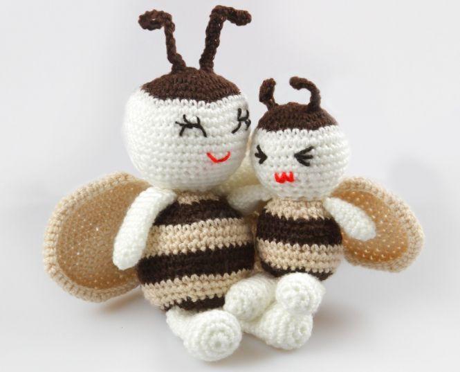 PointelleShop - Amigurumi Puppe Bienchen Häkelanleitung | MyBoshi.net