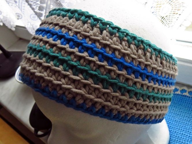 Crochetta Häkeldesign Stirnband Gehäkelt Myboshinet