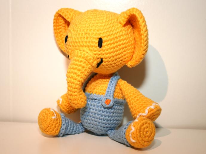 Amigurumi Xxl Elefant : Elefant - Amigurumi