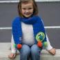 Häkelanleitung für Kinderschal Isehara
