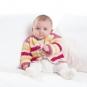 Häkelanleitung für Babyjacke Ishikari