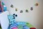 Häkelanleitung:Girlande fürs Kinderzimmer 130 cm