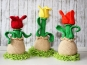 Tulpe - Ei-Hocker - Eierwärmer