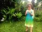 Häkelanleitung Kinderkleid ELFENTRAUM aus einem Bobbel