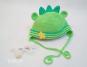 Häkelanleitung Babyset Dino Frido - Strampler & Mütze 3-6 M