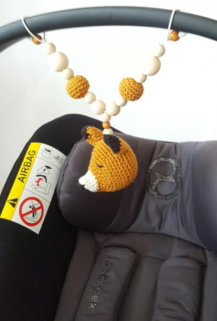 h kelanleitung fuchs f r baby kinderwagenkette. Black Bedroom Furniture Sets. Home Design Ideas