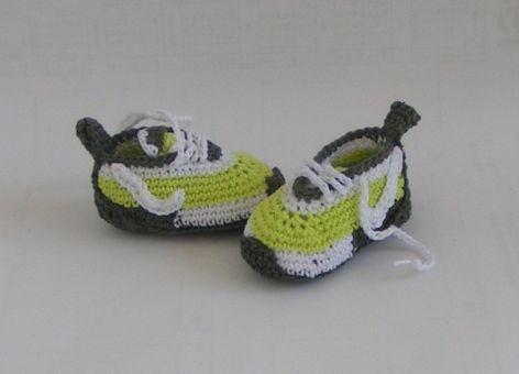 Häkelanleitung Turnschuhe/Sneakers