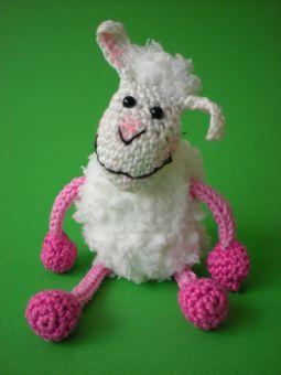 Schaf mit Schlenkerbeinen