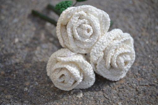 + ROSE + häkeln Brautstrauß, Geschenk zum  Muttertag