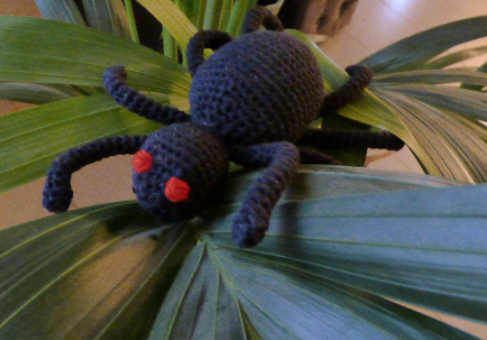 Häkelanleitung (035): Egon Spinnenbein