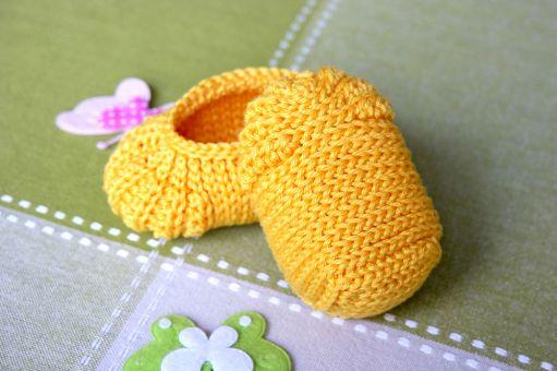 Babyschuhe häkeln. Einfache Methode - fantastisches Ergebnis