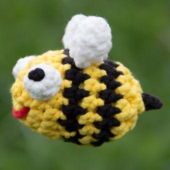 Häkelanleitung für Biene