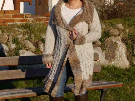 Strickanleitung Damenjacke unisize Luxury Design No.79