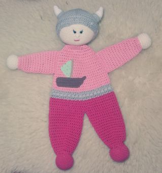 Winter Viking | Crochet toys, Crochet clothes patterns, Amigurumi ... | 340x319