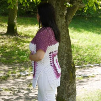 Häkelanleitung Shirt unisize Grannystyle