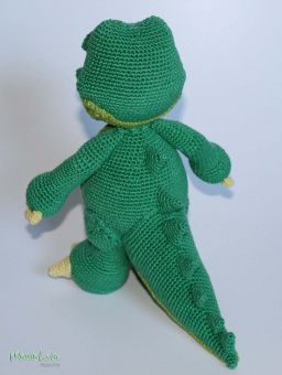 AMIGURUMI Alligator Ben