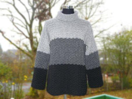Häkelanleitung warmer Pullover
