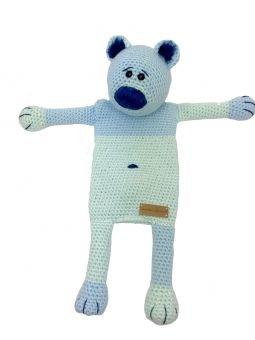Häkelanleitung Wärmekissenbezug Bär Barney