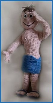 Mister Universe Philippe PDF Häkelanleitung Puppe