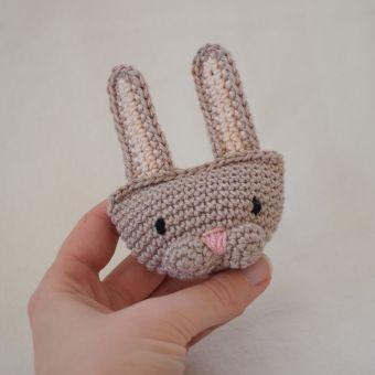 EASTER (bunny, chicken & sheep) - crochet pattern