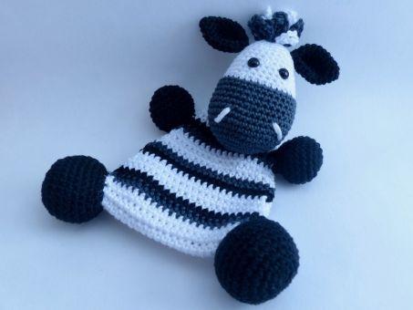 Knistertuch Zebra