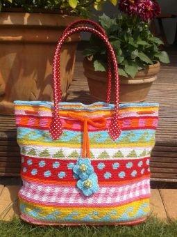Häkelanleitung Shopper - Tasche