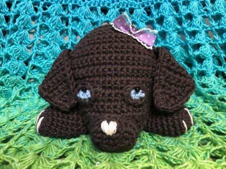 Häkelanleitung Ragdoll Labrador Hund Baby PIPPA