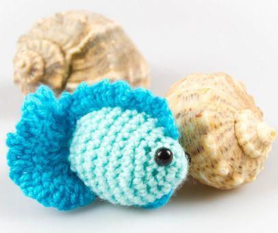 Amigurumi Puppe Fisch Häkelnanleitung