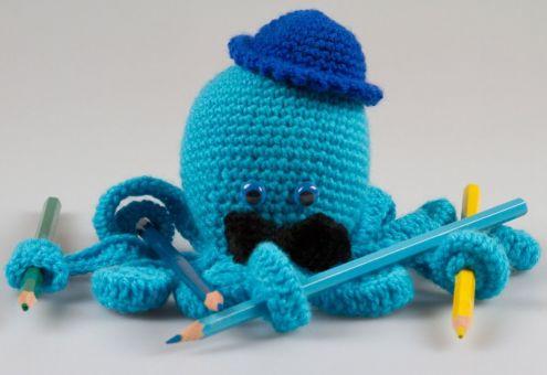 Amigurumi Puppe Oktopus Häkelnanleitung